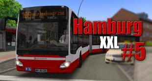OMSI 2: XXL in Hamburg mit dem Doppelgelenkbus #5: Knappe Haltestellen mit dem MB Citaro 2!