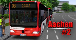 OMSI 2: Aachen mit dem MB O530GL #2: Fehlende Busse in OMSI!