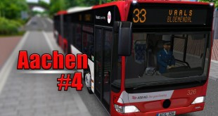 OMSI 2: Aachen mit dem MB O530GL #4: Knappe Sache am Bordstein!