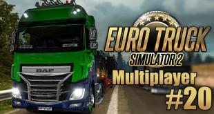 Euro Truck Simulator 2 Multiplayer #20: Der DAUERHUPER! I ETS 2 deutsc