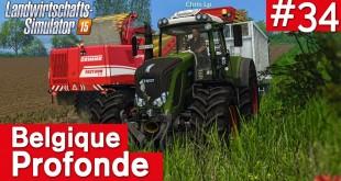 LANDWIRTSCHAFTS-SIMULATOR 15 #34: RÜBENERNTE! Belgique Profonde
