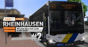 OMSI 2: Rheinhausen mit dem Citaro 2 Überlandbus #2: Angekommen an den Endhaltestelle der Linie 41