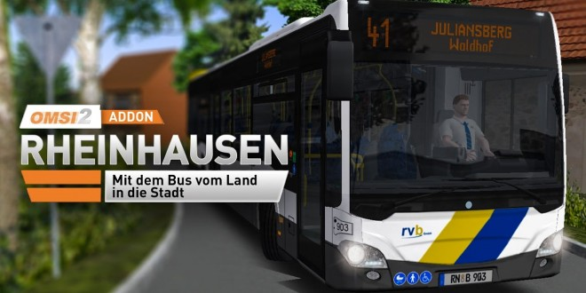 OMSI 2: Rheinhausen mit dem Citaro 2 Überlandbus #1: Thema Stadtbahn auf der Linie 41!