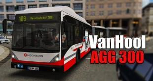 OMSI 2: Mit dem VAN HOOL DOPPELGELENKBUS AGG 300 in Hamburg auf der 109 #2: In der Bahn helfen?!