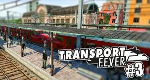 TRANSPORT FEVER #3: Hohes Verkehrsaufkommen! I Transport Fever deutsch Freeplay