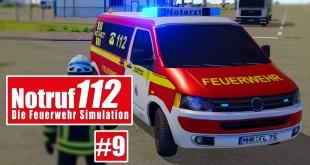 NOTRUF 112 #9: Verkehrsunfall VU 3! I Gameplay von Notruf 112 die Feuerwehr-Simulation