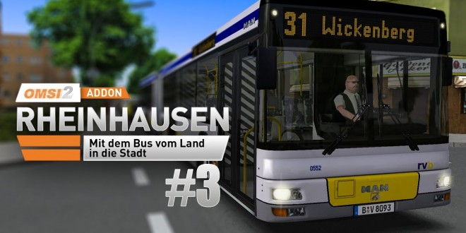 OMSI 2: Rheinhausen mit dem MAN-Gelenkbus A23 #3: Unterwegs auf der Linie 31!