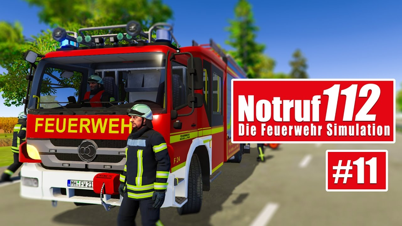 NOTRUF 112 #11: Verkehrsunfall mit Verletzten! I Gameplay von Notruf ...