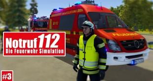 NOTRUF 112 #3: PKW brennt auf der Autobahn! I Gameplay PREVIEW Notruf 112 die Feuerwehr-Simulation