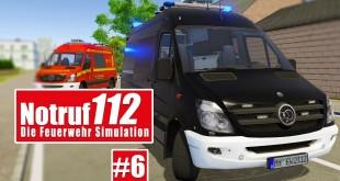 NOTRUF 112 #6: Der geheime EINSATZWAGEN! I Gameplay PREVIEW Notruf 112 die Feuerwehr-Simulation