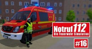 NOTRUF 112 #16: LKW steht in Flammen! I Gameplay von Notruf 112 die Feuerwehr-Simulation