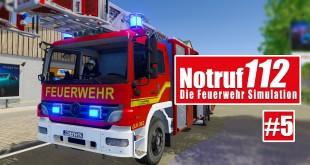 NOTRUF 112 #5: Brennender PKW bei Nacht! I Gameplay PREVIEW Notruf 112 die Feuerwehr-Simulation
