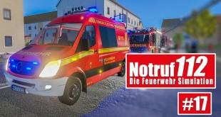 NOTRUF 112 #17: Verkehrsunfall und Heimrauchmelder! I Gameplay Notruf 112 die Feuerwehr-Simulation