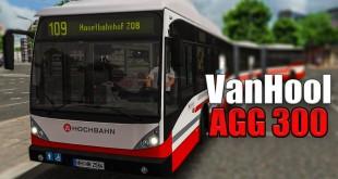 OMSI 2: Mit dem VAN HOOL DOPPELGELENKBUS AGG 300 in Hamburg auf der 109 #1: Was kann der Bus?