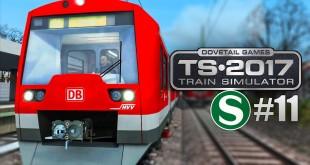 Train Simulator 2017 #11: Mit der S-BAHN BR 474 im HVV auf der S1 mit Puls in Hamburg!