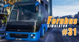 FERNBUS SIMULATOR #31: Winterchaos! I Let's Play Fernbus Simulator deutsch