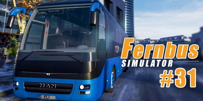FERNBUS SIMULATOR #31: Winterchaos! I Let's Play Fernbus Simulator deutsch
