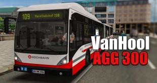 OMSI 2: Mit dem VAN HOOL DOPPELGELENKBUS AGG 300 in Hamburg auf der 109 #3: Performance!