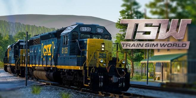 TRAIN SIM WORLD #1: Auf den Gleisen im besten Train Simulator! I TSW Eisenbahn-Simulator deutsch