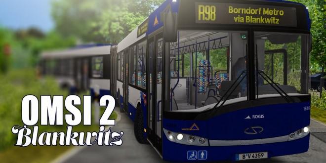 OMSI 2: Mit dem SOLARIS URBINO 18 Gelenkbus durch Blankwitz #1: Ausfahrt verpasst