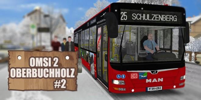 OMSI 2: Ober-Buchholz mit dem MAN Lion's City A21 #2 – Hohe Verspätung und Glatteis!