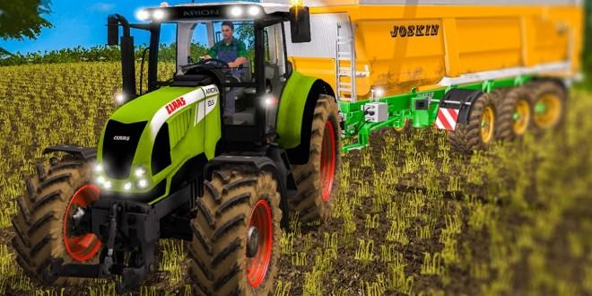 LS17: COLDBOROUGH PARK FARM. Ackern im Farming Simulator 17