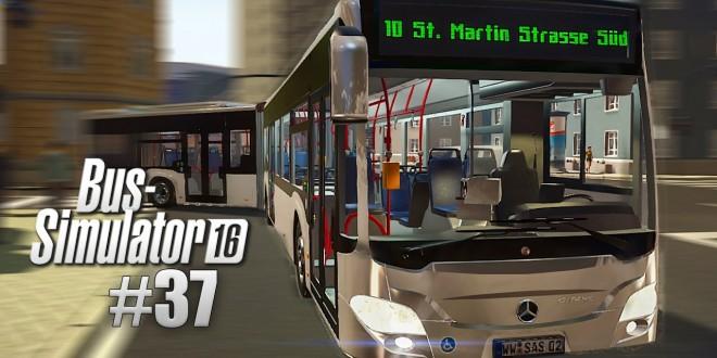 BUS SIMULATOR 16 #37: Mit dem MERCEDES-Benz CITARO K unterwegs. OMSI vs. Bus-Simulator 16!