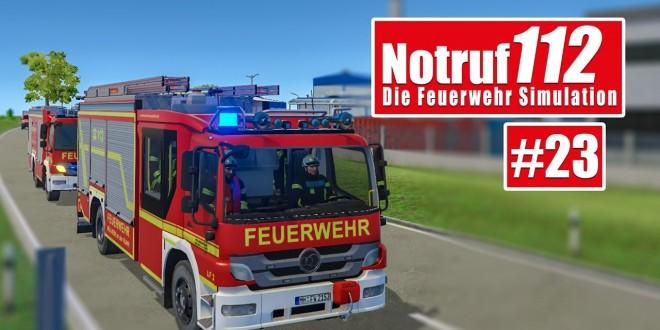 NOTRUF 112 #23: Nachteinsatz! I Gameplay Notruf 112 die Feuerwehr-Simulation
