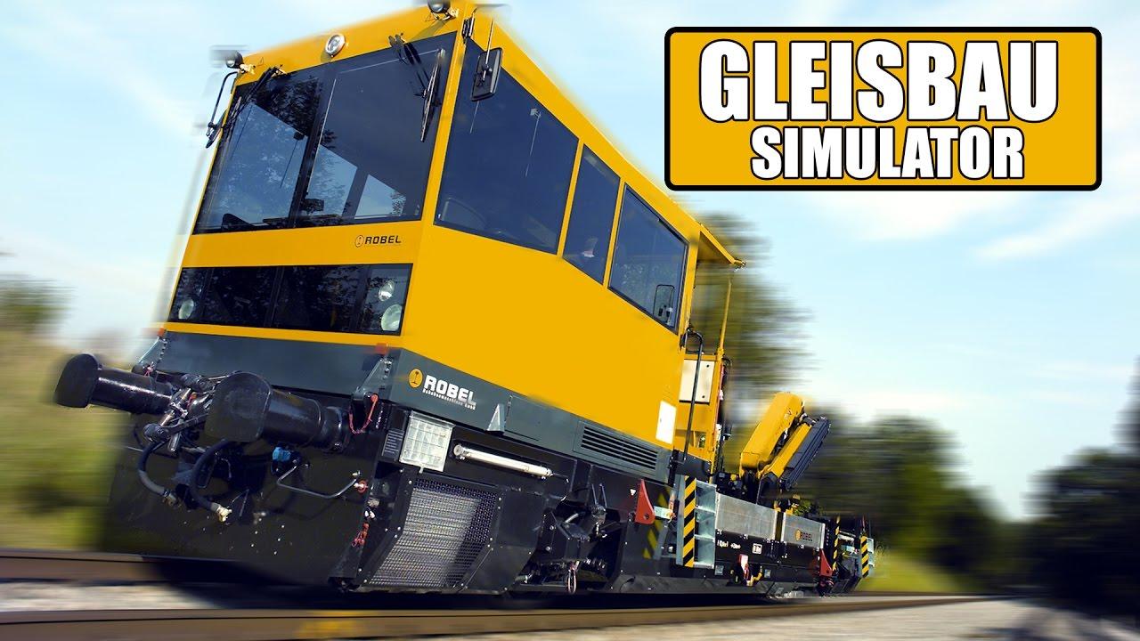 GLEISBAU-SIMULATOR: Wir tauschen die Zugschienen aus! | Gleisbau ...