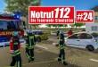 NOTRUF 112 #24: AUTOUNFALL! Verletzte Person mit Sanitätern bergen! I Feuerwehr-Simulation