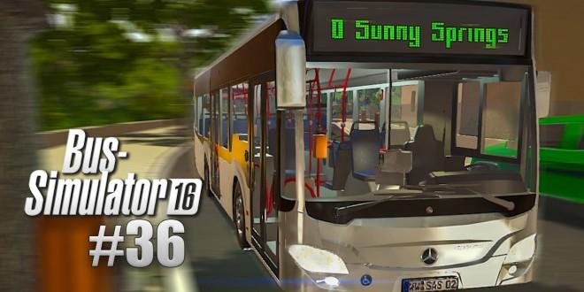 BUS SIMULATOR 16 #36: MERCEDES-Benz CITARO K im Bus-Simulator!