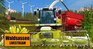 LANDWIRTSCHAFTS-SIMULATOR 17: Maisernte in Waldsassen! I Farming Simulator 2017