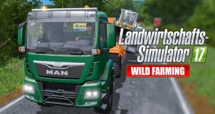 LANDWIRTSCHAFTS-SIMULATOR 17 #54: LS-LENKRAD SCHROTT? LS17 Multiplayer Wild Farming