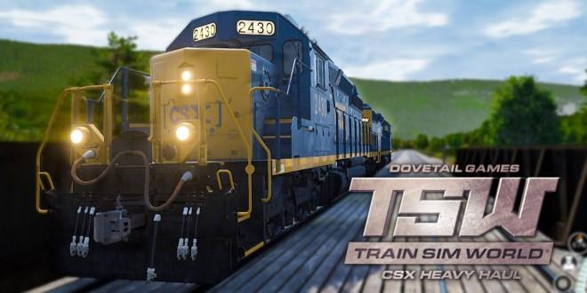 TRAIN SIM WORLD #2: DIESELLOK auf der DREHSCHEIBE! I TRAIN SIMULATOR WORLD CSX HEAVY HAUL deutsch
