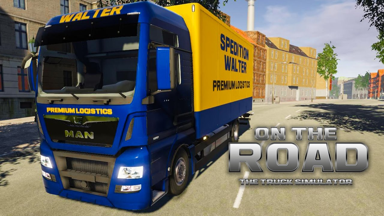 on the road truck simulator 3 angekommen in magdeburg. Black Bedroom Furniture Sets. Home Design Ideas