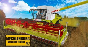 LS 17 HOF MECKLENBURG #7: CLAAS-Drescher in Aktion! | LANDWIRTSCHAFTS-SIMULATOR 2017