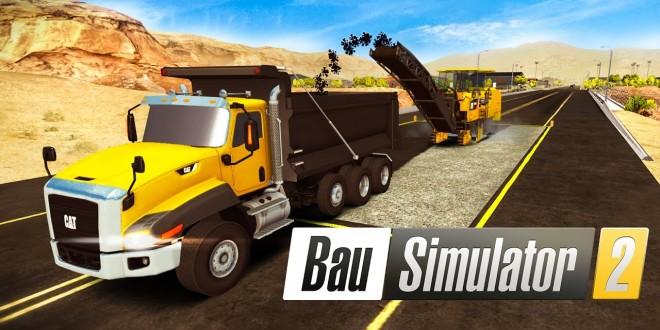 BAU-SIMULATOR 2: Start mit den CAT-Maschinen! | CONSTRUCTION SIMULATOR 2 Android deutsch
