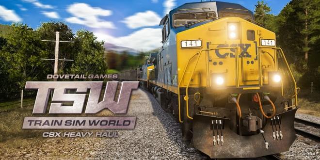 TRAIN SIM WORLD #1: Bombastische Zug-Simulation! I TRAIN SIMULATOR WORLD CSX HEAVY HAUL TSW deutsch