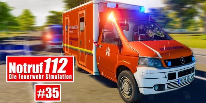 NOTRUF 112 #35: Die FEUERWEHR HAMBURG rückt aus! I Feuerwehr-Simulation
