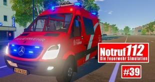NOTRUF 112 #39: Gebäudebrand für die Feuerwehr Berlin! I Feuerwehr-Simulation