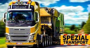 SPEZIALTRANSPORT-SIMULATOR: Zugmaschine und Tieflader! | Spezialtransport-Simulator 2013 Classics