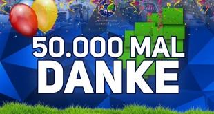 50.000 MAL DANKE! Rückblick, Chancen und Danke an alle Beteiligten! | nordhreintvplay – Simulatoren