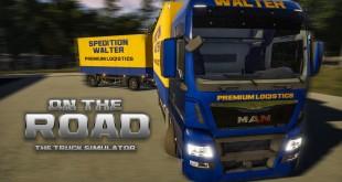 ON THE ROAD – Truck Simulator #4: DREHSCHEMEL und LENKRAD! | LKW-Simulator OTR