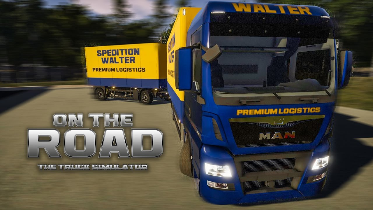on the road truck simulator 4 drehschemel und lenkrad. Black Bedroom Furniture Sets. Home Design Ideas