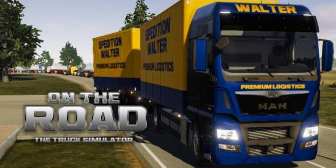 on the road truck simulator 5 auftrag beenden in. Black Bedroom Furniture Sets. Home Design Ideas