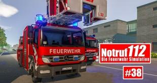 NOTRUF 112 #38: Spielplatzbrand – Einsatz für die FEUERWEHR BERLIN! I Feuerwehr-Simulation