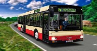 OMSI 2: STEINKIRCHEN mit dem MAN NÜ 263 Überlandbus #1: Wow – ein Wasserfall! Linie 14