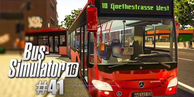 BUS SIMULATOR 16 #41: Hat der Bus-Simulator zu viel versprochen? MERCEDES-Benz CITARO Solo