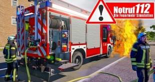 NOTRUF 112: HILFE – es brennt! Einsatz für die Feuerwehr! I Feuerwehr-Simulation