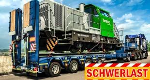 SCHWERLAST-TRANSPORT #2: Mit 61 Tonnen durch Frankreich! | EURO TRUCK SIMULATOR 2 Heavy Cargo Pack